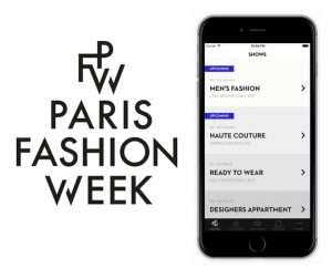 Application Paris Fashion Week