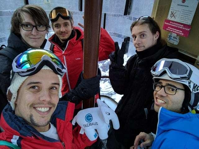 Team Globalis au ski