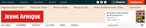 Jeune Afrique -WordPress