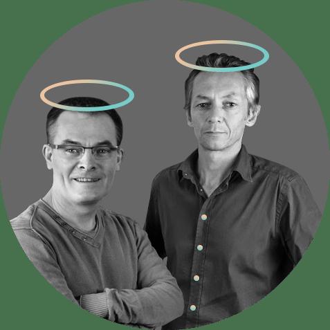 Fred et Armel créé dès 1997 l'une des premières SSII Web.